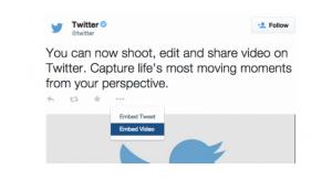twitter video widget
