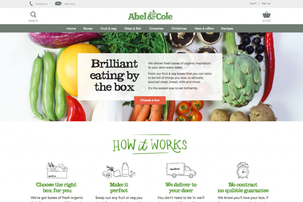 10 Amazing Food & Drink Ecommerce Websites