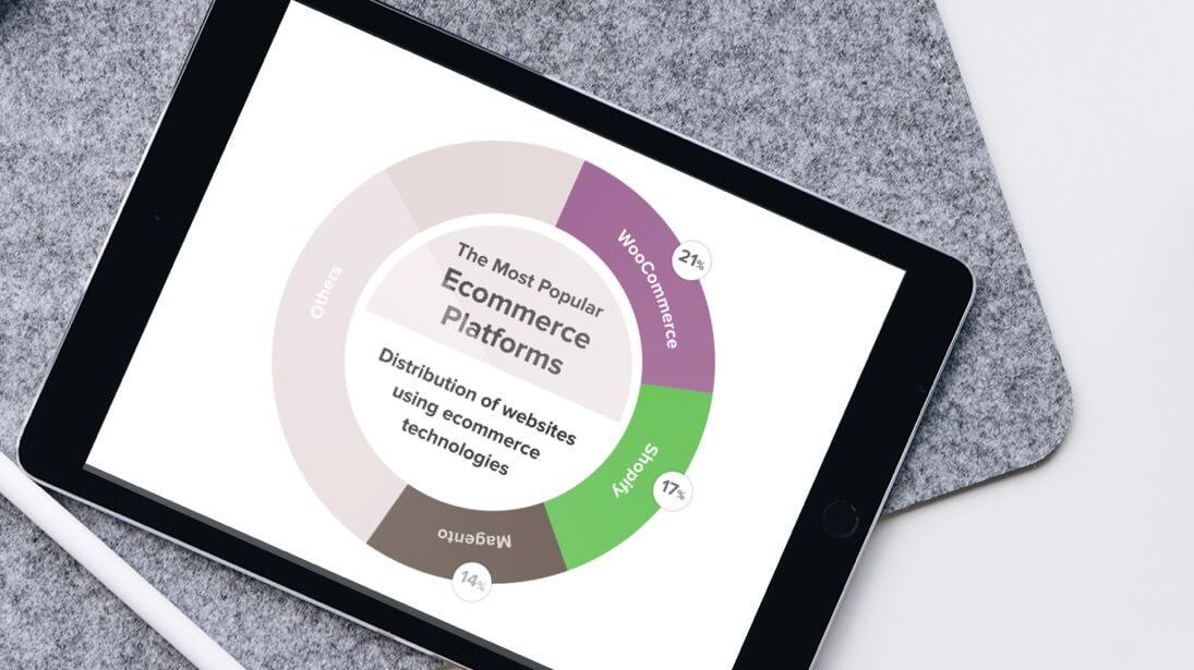 Ecommerce Platform Stats iPad