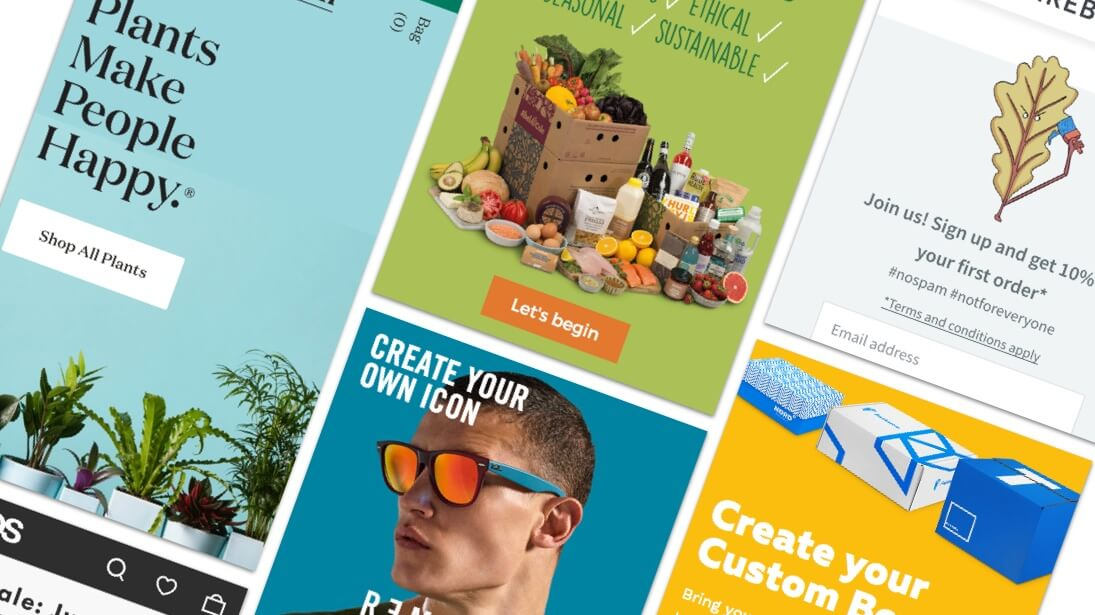 10 Stunning Examples of Ecommerce Websites