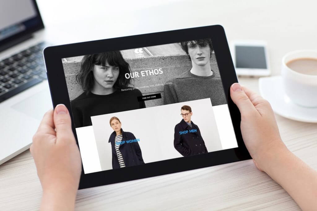 Community Clothing Ecommerce Website