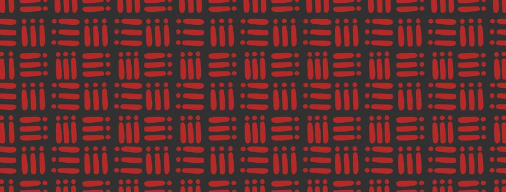 Dansaki red pattern