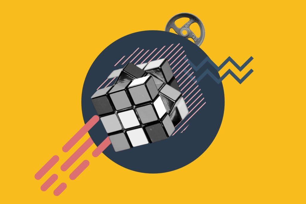 Website jargon - Rubix cube