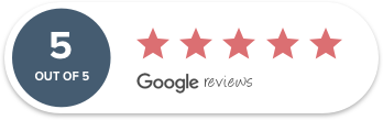 5 out of 5 Google Reviews