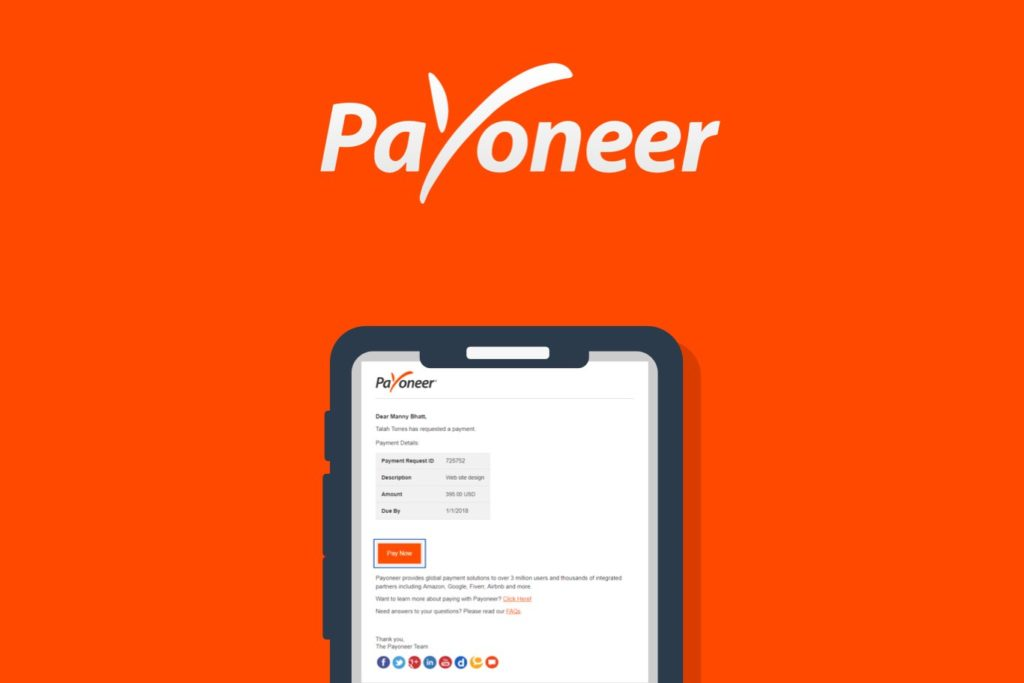 payoneer Payment system