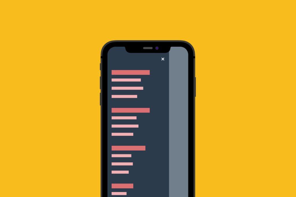 UX Tip 1 - Easy Navigation
