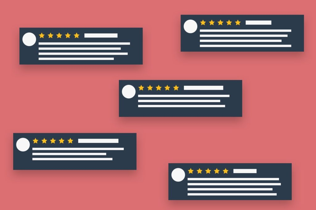 UX ecommerce tips social proofing